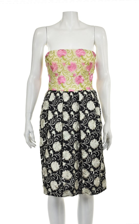 ARNOLD SCAASI Heavily Embroidered 2-Pc Cocktail D… - image 4