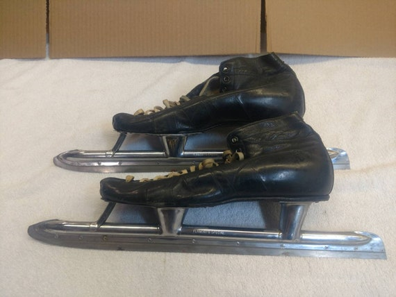 Vintage Planert Woman's Speed Skating Ice Skates