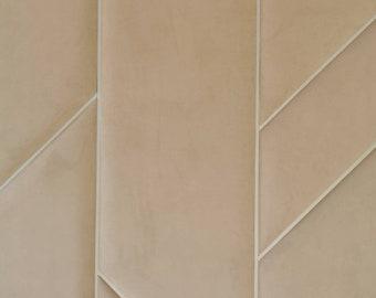 10 sq ft Wall decor, soft panels, Headboard, Wall Panels, Modern Bedroom Decor, Fabric Wall Decor, Upholstered Headboard, Montessori Bed,
