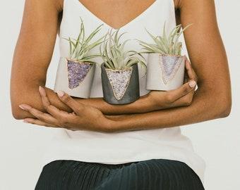 Plant Pot| 4 inch Planter | Concrete Planter | Air Plant Holder