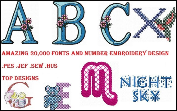 160k Embroidery Designs JEF Designs on A USB Stick Sew Designs