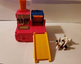 Vintage 80s G1 Transformers Micromasters KO Bootleg White Knight