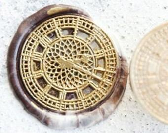 Self Adhesive Clock Clog Wax Seal