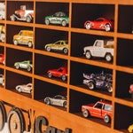 Toy Car Storage 20-42 sections, Stained, Shelf, Garage for Hot Wheels, Matchbox Toy Cars and other toy cars that are looking for a HOME