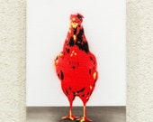 Huhn in Serie