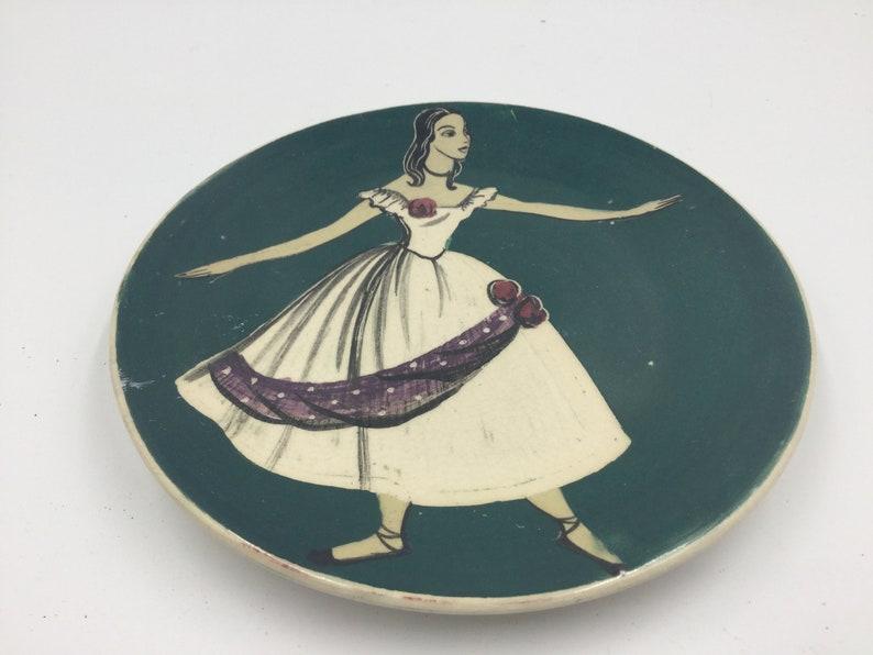 Australian pottery Martin Boyd plate 1950