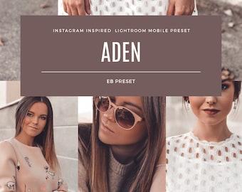 Instagram Inspired ADEN filter  Mobile Lightroom Preset  Lightroom Presets Travel Blogger Instagram Influencer Lifestyle  Photography
