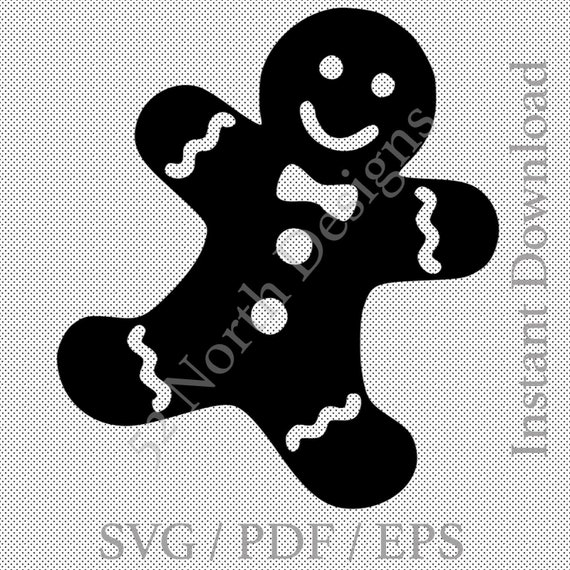Nursery Rhyme Gingerbread man wall art quote sticker vinyl Kids bedroom