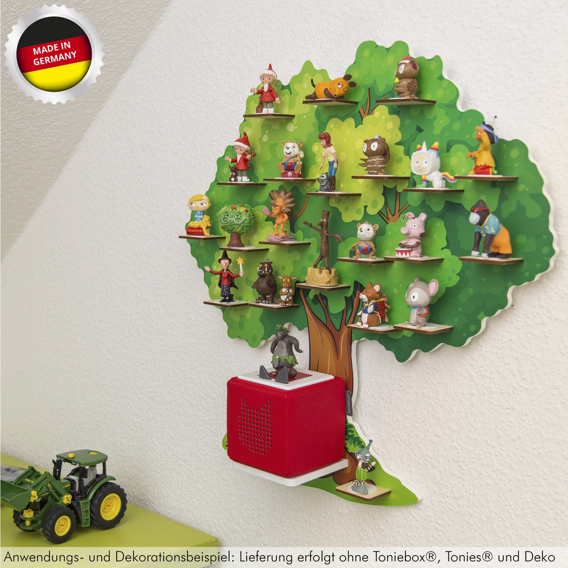 """Magnetic Tonie Regal """"Fairytale Tree"""" ideal for Tonies® figures and Toniebox® / Music Box"""""""