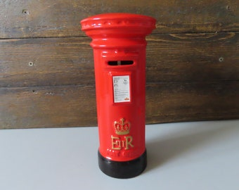 postbox post box Mail box royal mail,wedding card box,large post box,money box,English mail box,lockable box wedding letter box mailbox