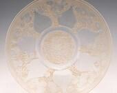 Rene Lalique Assiette Vases No2 Designed 1921 VDA Mark
