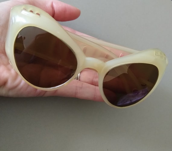 Vintage European 1950s Sunglasses; Mid-century Su… - image 3