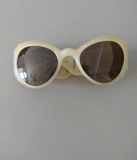 Vintage European 1950s Sunglasses; Mid-century Sun