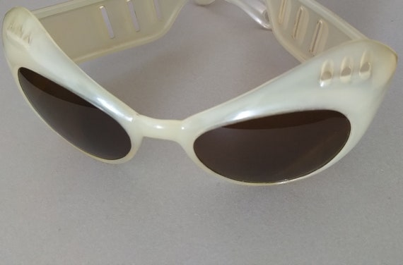 Vintage European 1950s Sunglasses; Mid-century Su… - image 9