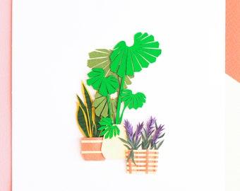 Botanic Indoor Plant Poster, Japanese House Decor, Lavender Plant poster, Miniature Palm Tree Poster, Houseplants Poster Art for Living room