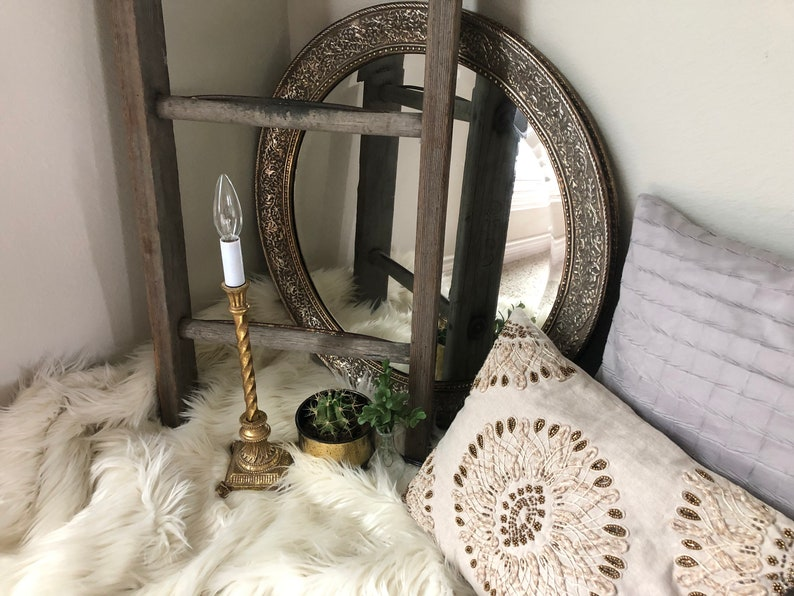 Gold candlestick lamp