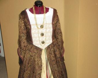 Medieval dress plus size   Etsy