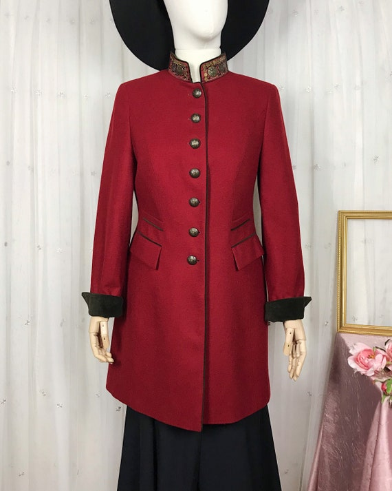 Vintage Schneiders Salzburg Land Art Jacket Coat R