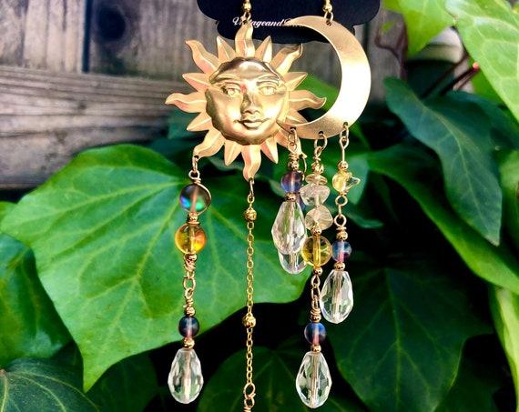 The Gypsys Night & Day Earrings - Feminine Divine Wearable Art