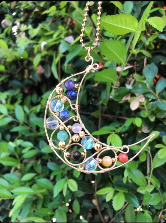 Luna & Balance ~7 Chakra Necklace
