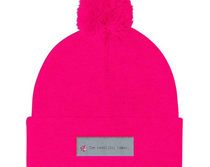 Featured listing image: The Beautiful Human Pom Pom Knit Cap