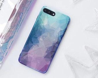 Gradual Change Black Matte Iphone Case Iphone X Case Iphone