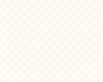 blue scattered  dots on cream natural by the half yard cotton quilt fabric  by Maywood Studios 8119M-Eb
