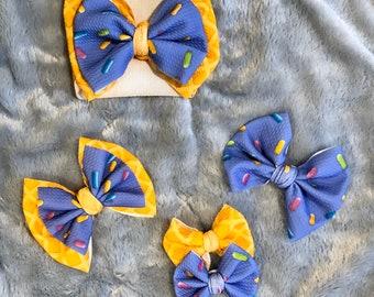 bow stretchy headbands head wrap adult headbands Flamingo big bows ice cream head wrap baby bows stretchy bows headwrap headwrap