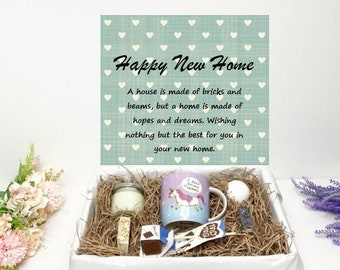 Personalised House Warming New Home Gift A home is made of hopes and dreams
