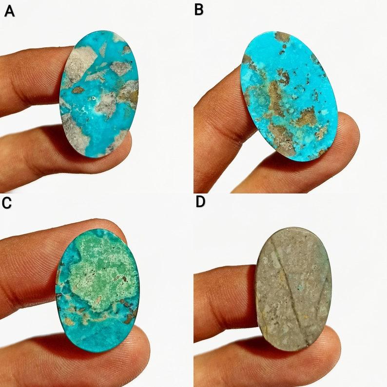 Amazing Quality Persian Turquoise Blue Color Turquoise Gemstone Oval Shape Cabochon Semi Precious Gemstone Use For Jewelry /& Pendant