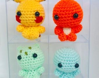 Crochet PATTERN Pokemon Bellossom amigurumi by oStrawberryHearto ... | 270x340
