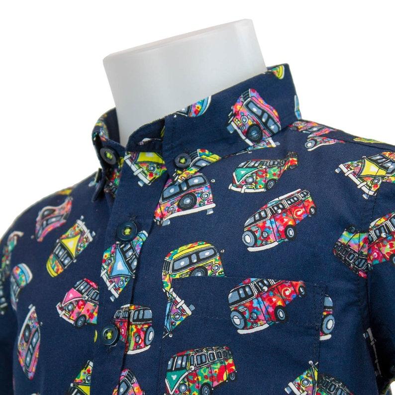 Zantt Men Printed Short Sleeve Beach Regular Fit Summer Button Up Shirt