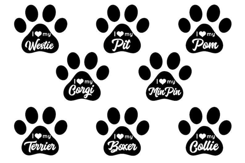 Download I love my dog bundle 22 designs heart paw pet SVG JPG PNG ...