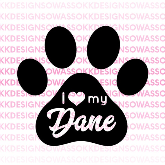 1361+ I Love My Dog Svg by CalaDesign