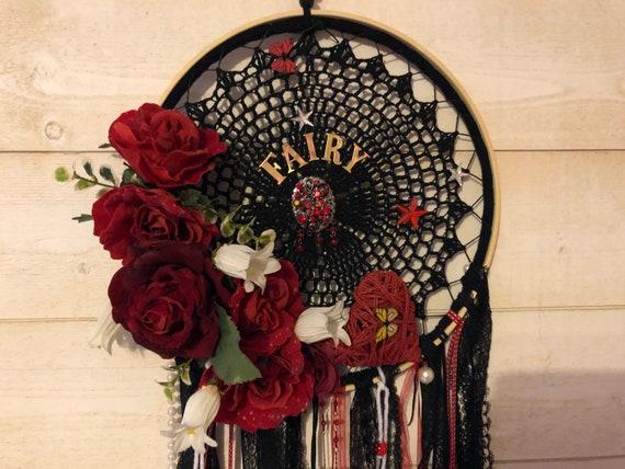 Dark Rose Dreamcatcher