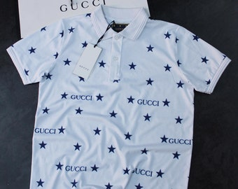 ed20c2346 Awesomely inspired by, Gucci, uniquely designed, black and white, round  neck, collar neck, t shirt, tee, t-shirt, inspired, gucci