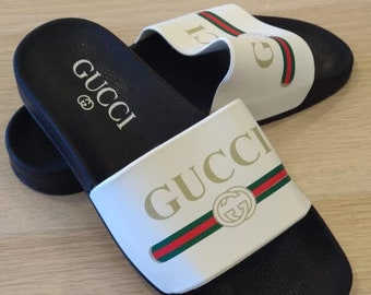 43730e2fd Designer inspired slides, supreme quality, very comfortable, and durable,  slide, slipper, inspiration, shining, sandal, men women, unisex,