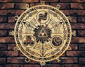 9aa211964b The Legend of Zelda - Little door of Time wall decor from wood, wooden wall  art, wood sign, logo symbol decoration
