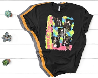 57ceaef3 New Kids On The Block Shirt NKOTB Colorful Vintage Retro Design For Men's  And Women's T-Shirt