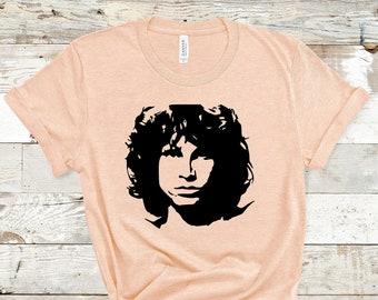 The Doors Sundown Target Jim Morrison Rock Official Tee T-Shirt Mens