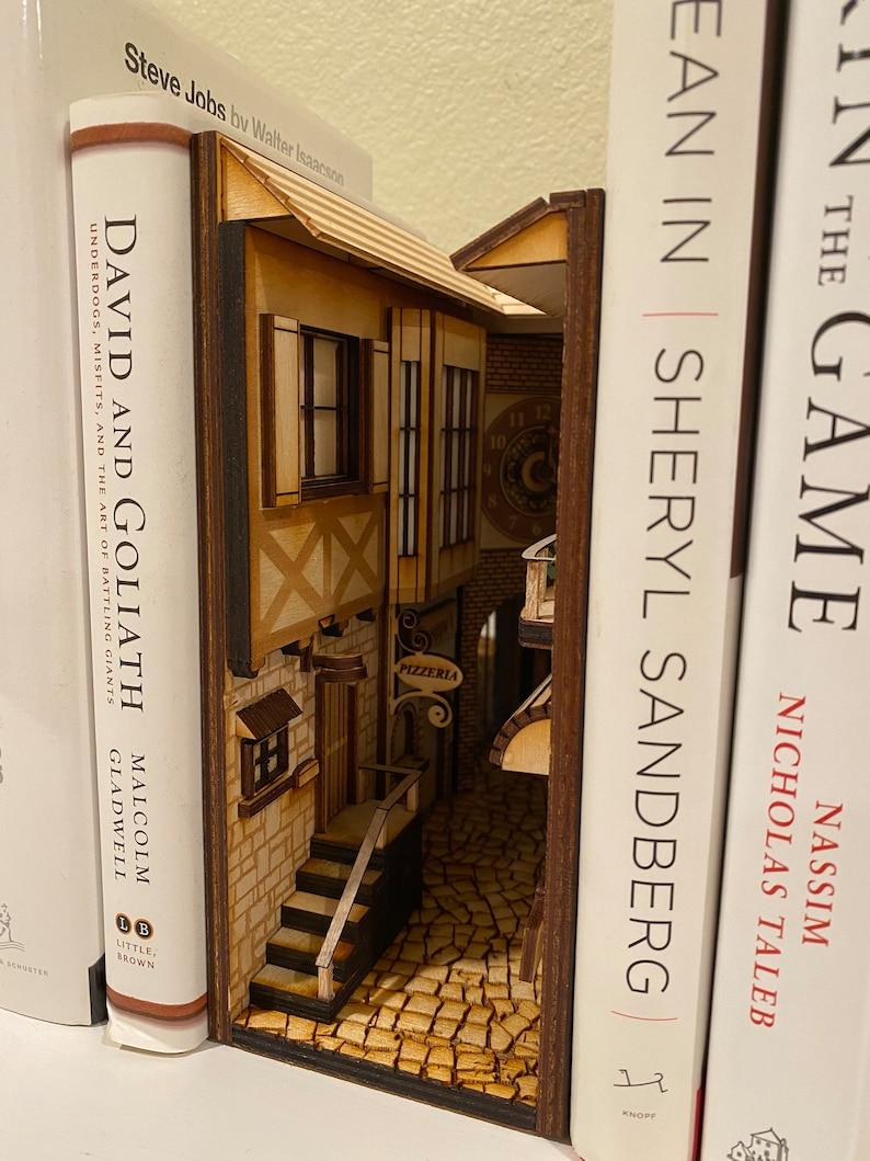 Book Nook  Book Shelf Insert  Book Shelf Decoration  image 4