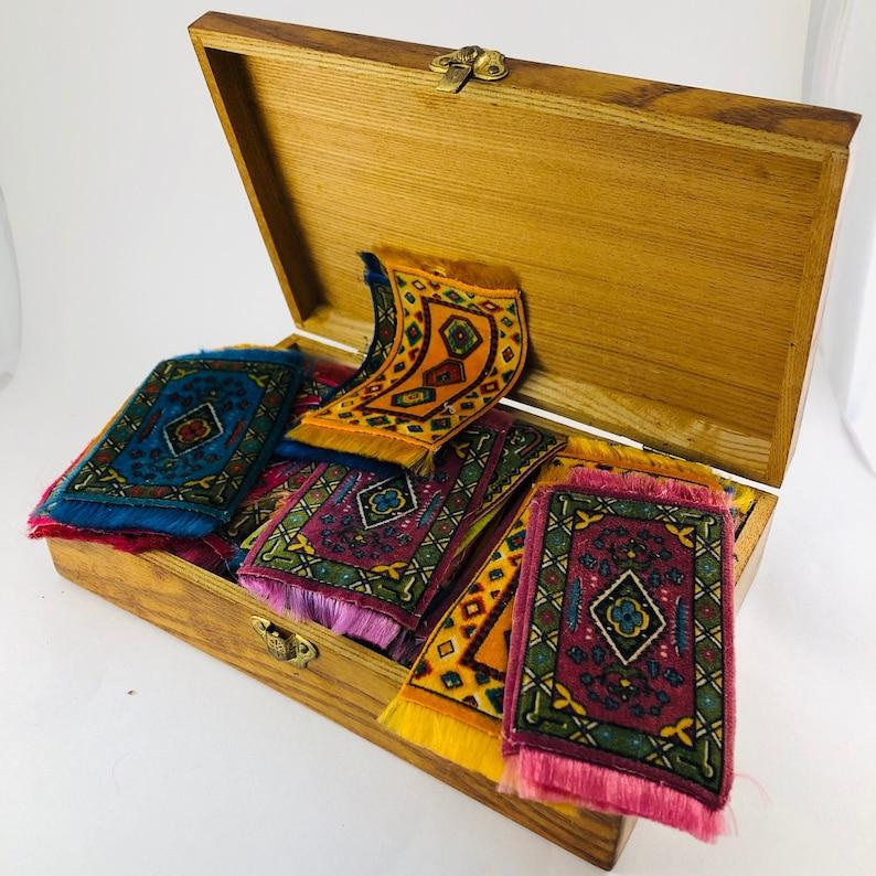 3 alfombras de seda de tabaco sedas de tabaco vintage seda ...
