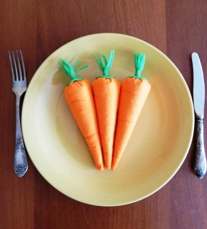 Felt Toy Food Carrot Pretend Play Educational Toys | Etsy