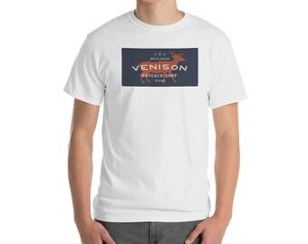 1a30f78b Men's Venison Butcher Shop T-Shirt