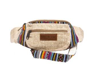 48a1285f2453 Hemp Fanny Pack | Waist Bag | Fanny packs | Hip packs | Bumbag | Pattern |  for Women Men | 100% VEGAN | FAIR TRADE | Handmade With Love