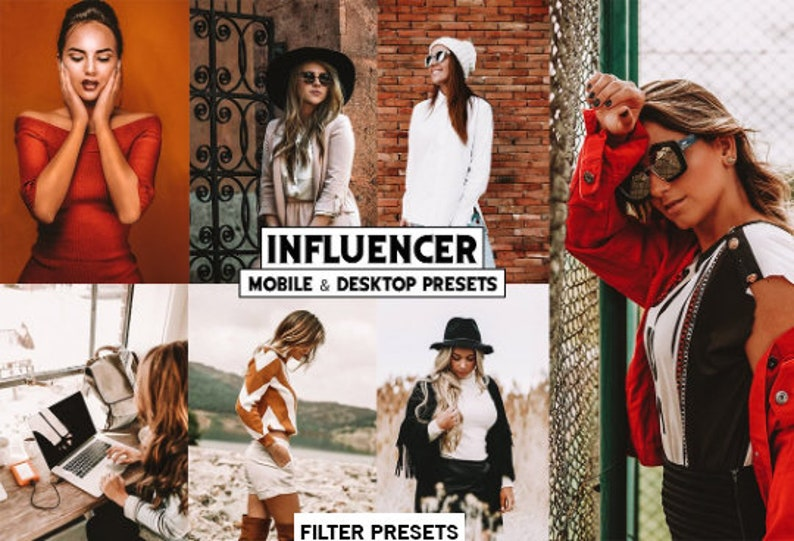 5 Desktop Mobile Lightroom Preset Influencer Fashion blogger Coffee Mobile  Preset instagram coffee Preset for Photos Editing Adobe