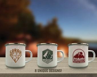 Custom Camping Mug Etsy