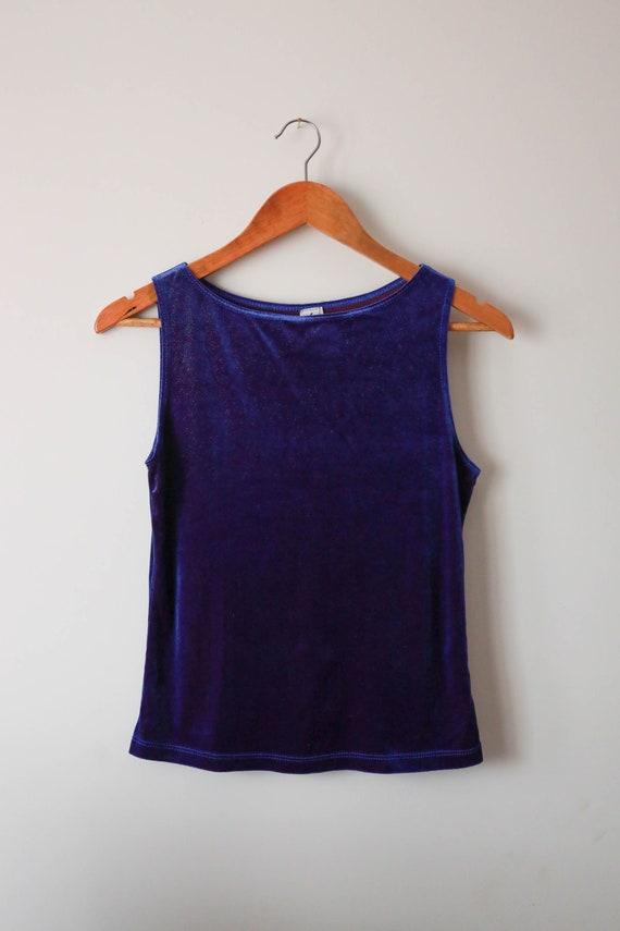 Vintage Y2K retro grunge shimmer Kitsch top blouse