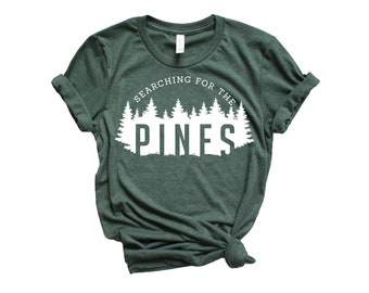 72f85ec56 Searching for the Pines © | Adventure Shirt | Graphic Tees | Hiking Shirt |  Adventure Shirt Women | Boho Tops | Adventure Tshirt