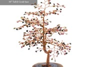 Feng Shui Tree of Life with Tourmaline Leaves